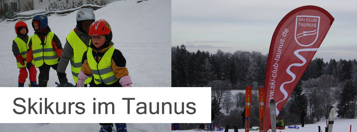Skikurs im Taunus
